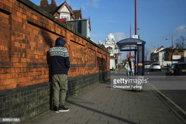 People go about their daily lives in Soho Road Handsworth famous for its multicultural residents on March 23 2017 in Birmingham England After...
