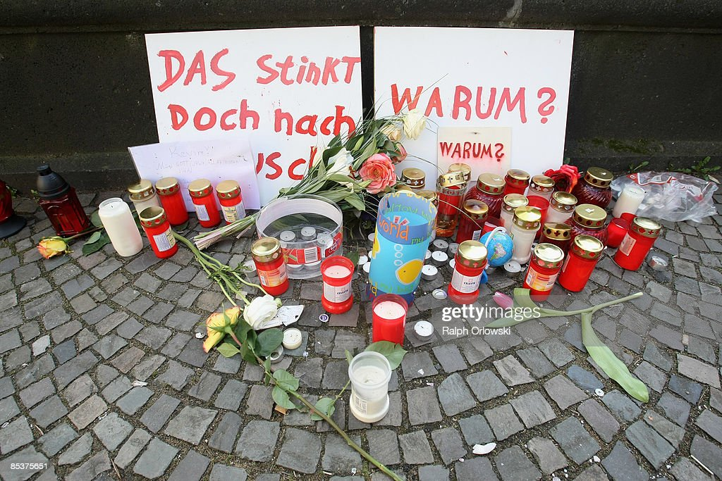 People have placed candles to mourn the death of a young resident who died due to the collapse of the Historical Archive on March 11, 2009 in Cologne, Germany. Cologne's six-story city archive building collapsed on Tuesday, March 3.The archive building dragged down parts of two adjacent buildings that contained apartments and an amusement arcade. Cologne holds archive material going back over centuries, including manuscripts by communist pioneers Karl Marx and Friedrich Engels and documents related to German writer Heinrich Boell.