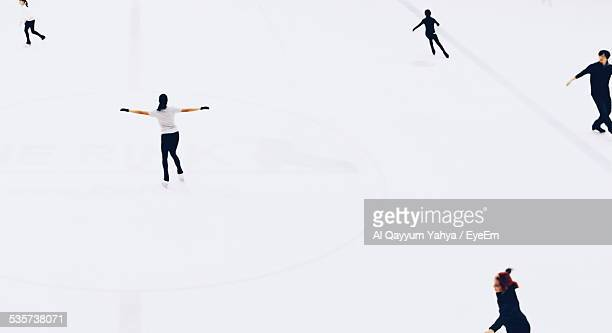 People Ice Skating