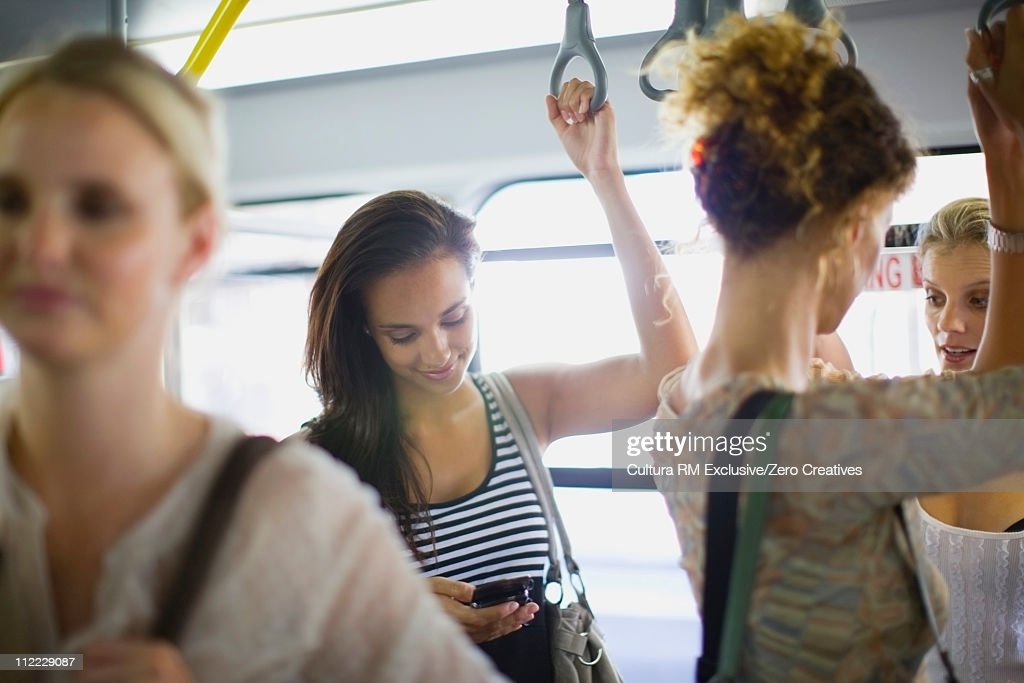 People in a bus : Stock Photo