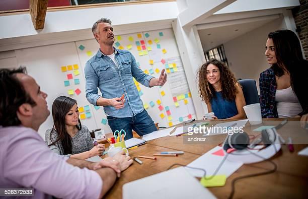 Menschen in einem business-meeting