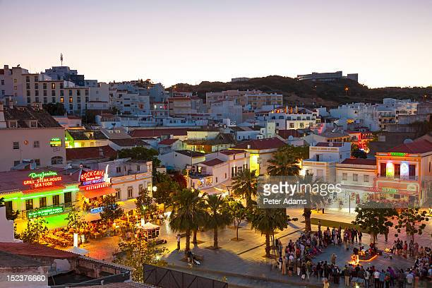 People in Albufeira, Algarve, Portugal