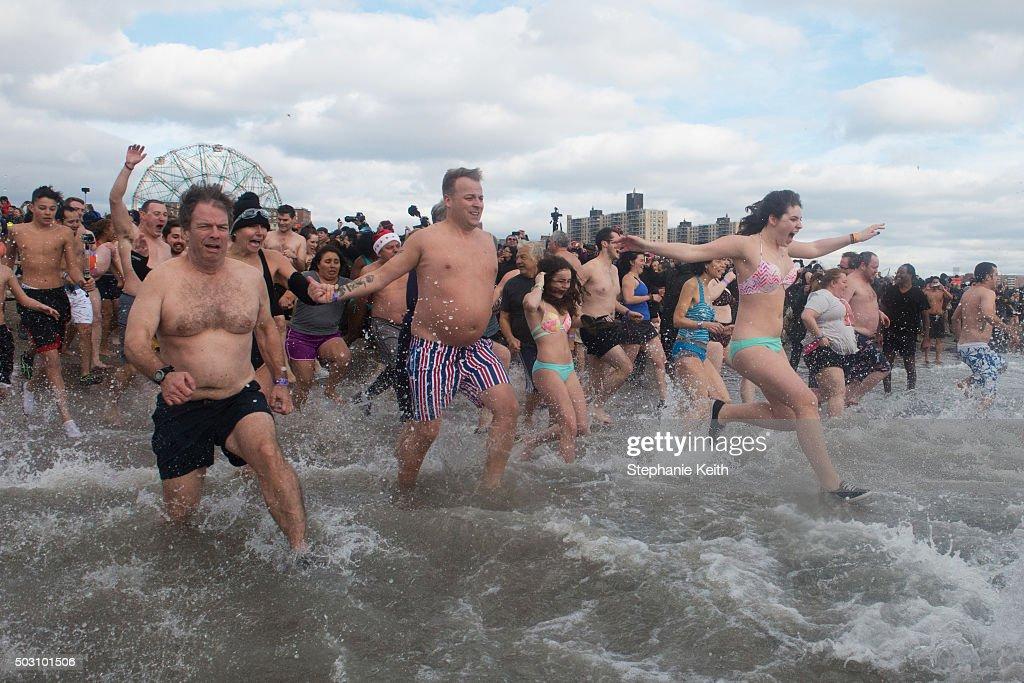 Consider, that polar bear club nude swims mine