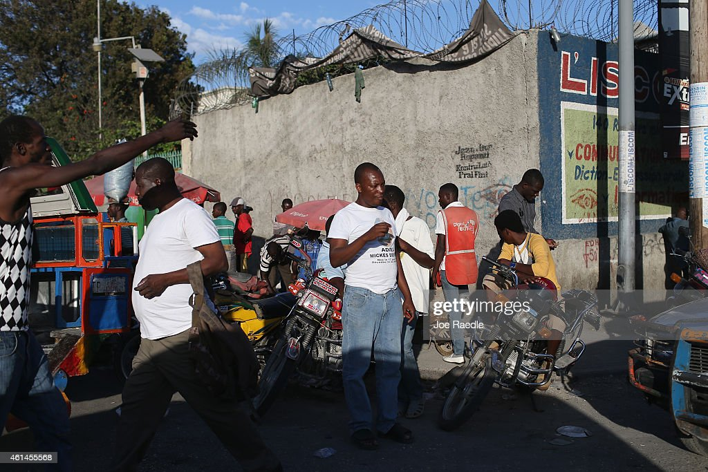 People in Haiti continue to rebuild and reestablish their daily routines on the five year anniversary of the magnitude 70 earthquake that hit just...