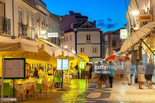 People in Lagos Town, Algarve, Portugal