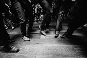 people in suit dancing on dance floor