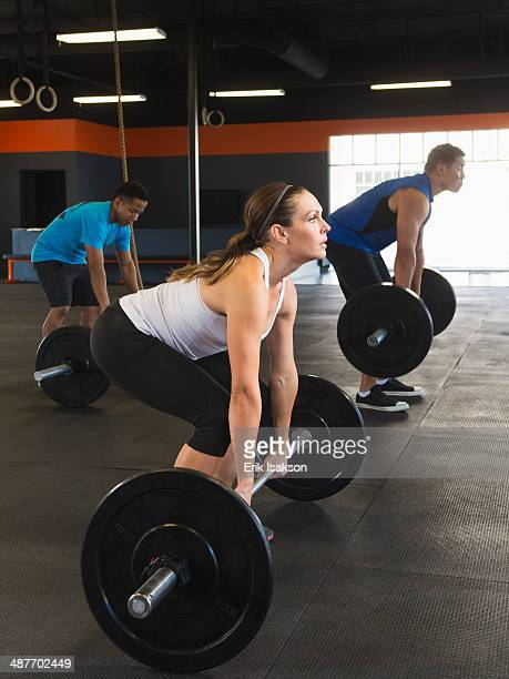 woman weight lifting stock photos and pictures getty images