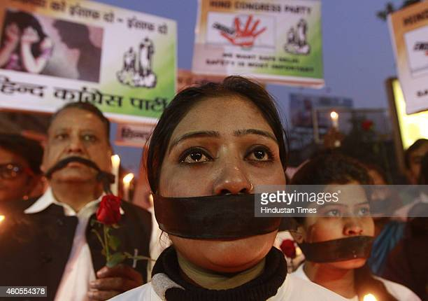 People lit candles and held solidarity marches in remembrance of the horrific December 16 Delhi gangrape that shook the nation at the munirka bus...