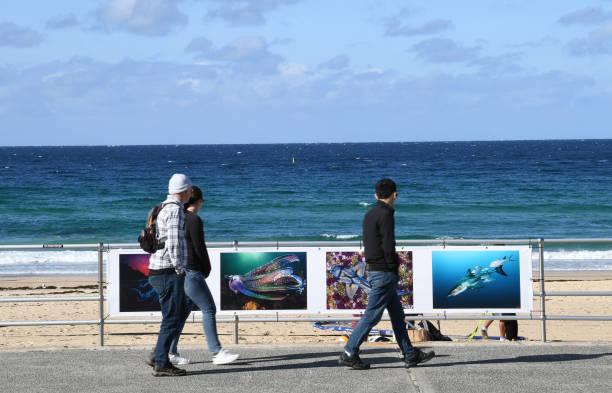 AUS: Sydneysiders Enjoy Open Air Photo Exhibition