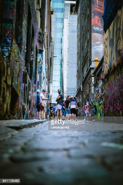 People of Melbourne Australia.
