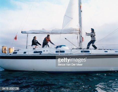 People on Sailboat