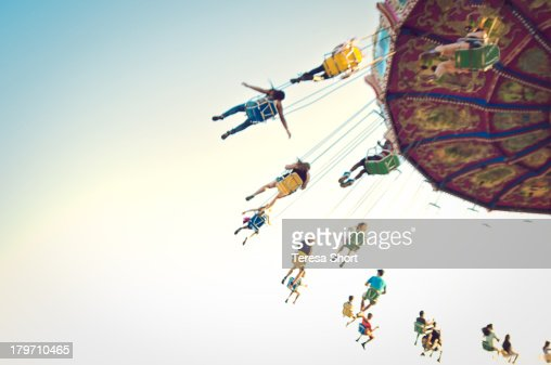 People on Swing Ride