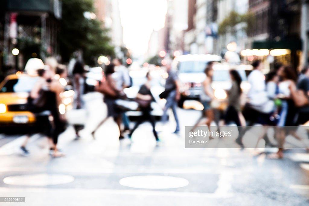 Menschen auf der Straße : Stock-Foto
