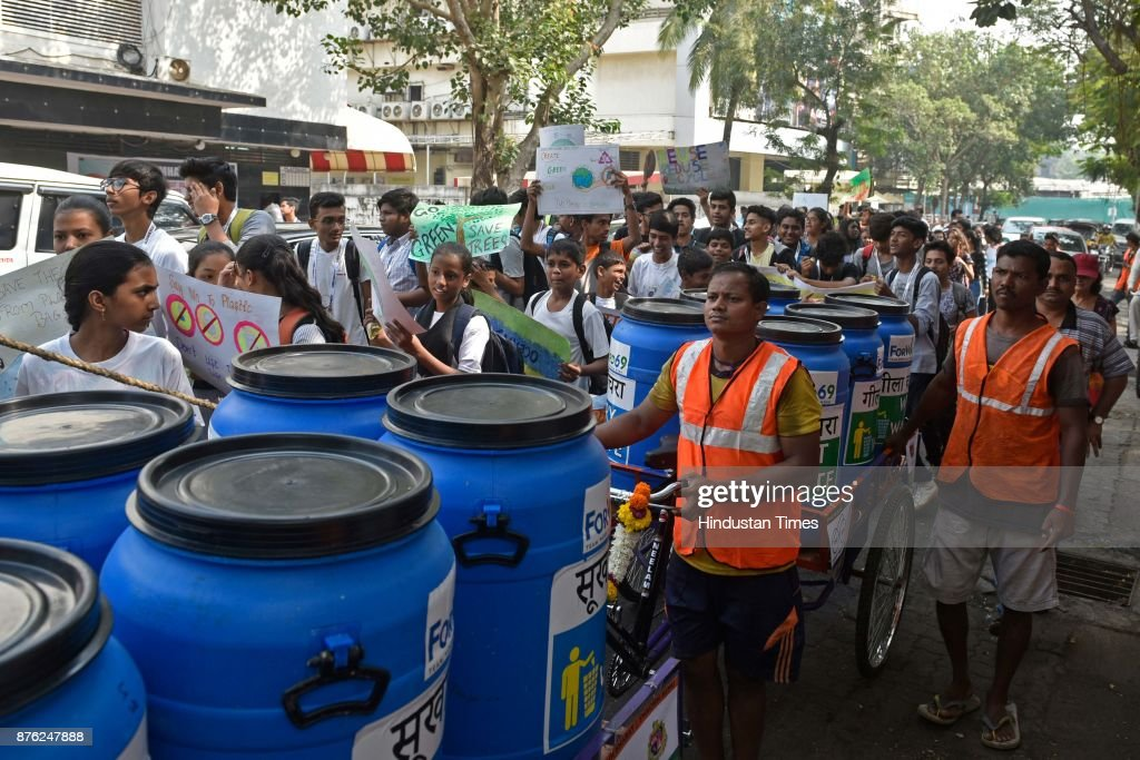 No Plastic Bag Rally In Mumbai