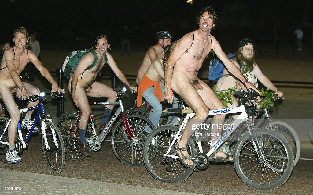 naked people in street