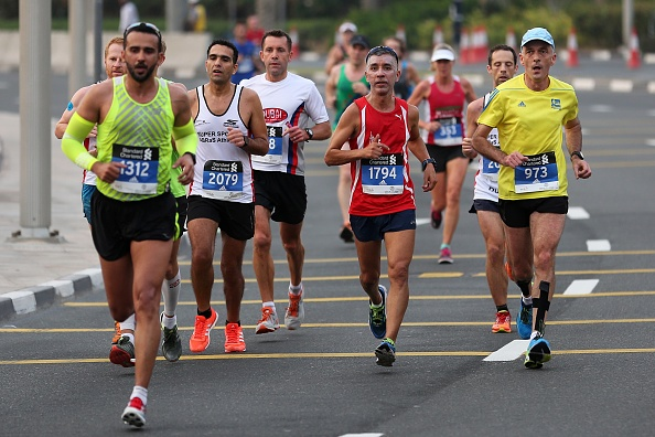 Dubai Marathon 2017 : News Photo