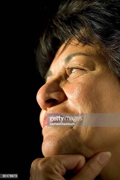 People - Senior East Indian Woman #09