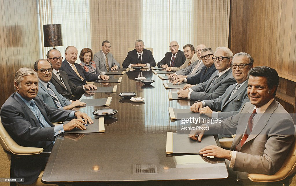 People Sitting In Conference Room Stock Photo Getty Images