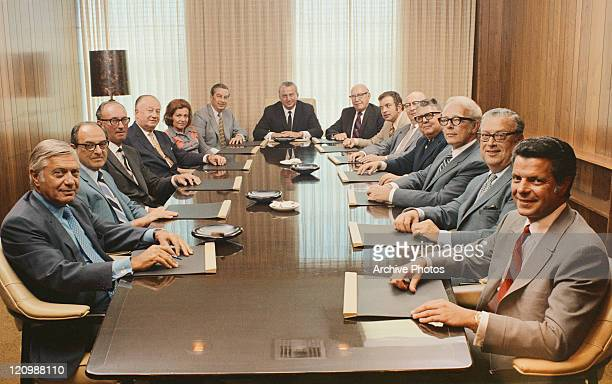 People sitting in conference room