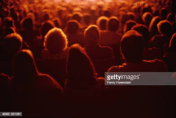 People Sitting in Theater