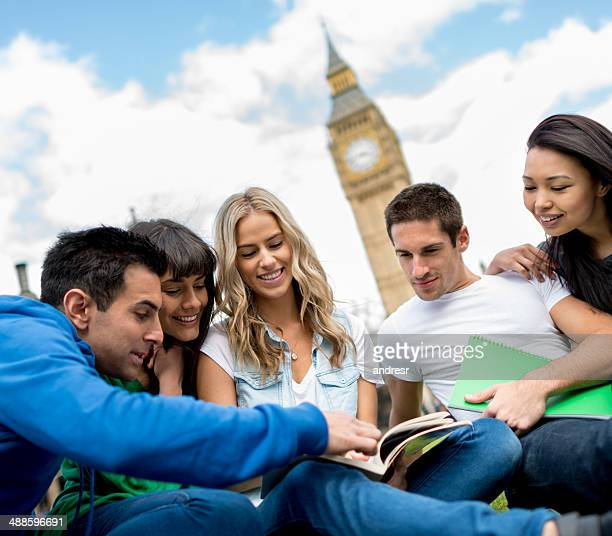 People studying abroad