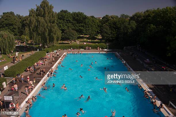 Public Swimming Pool public swimming pool stock photos and pictures   getty images