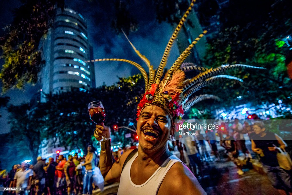 The Faces Of Carnival - Sao Paulo Style