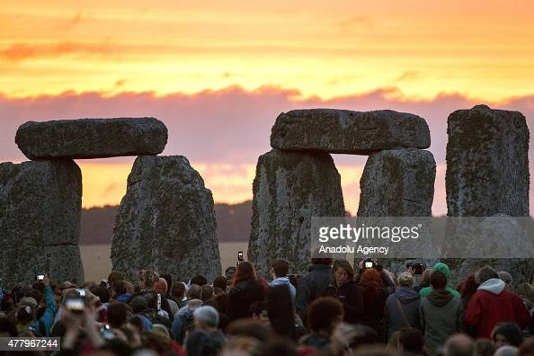 In Focus - Summer Solstice At Stonehenge | Getty Images