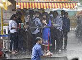 IND: Monsoon Rains In Delhi-NCR