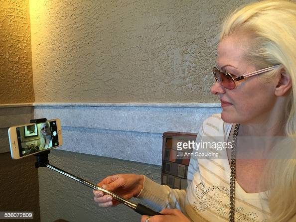 People Using Selfie Sticks Pictures Getty Images
