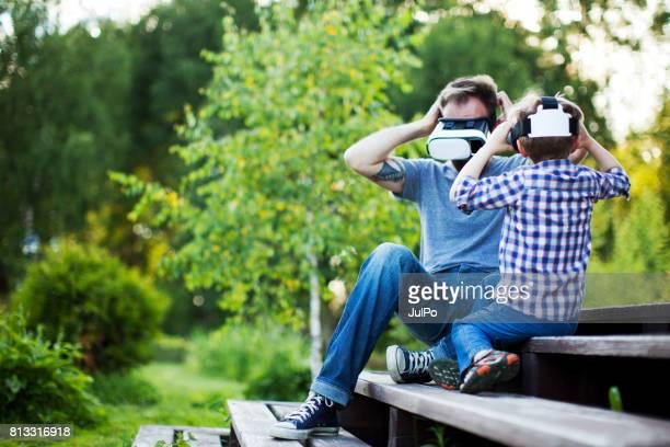 Mensen met behulp van Virtual Reality - kort