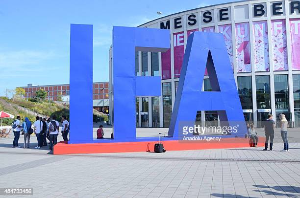 People visit the IFA 2014 electronics trade fair in Berlin Germany on September 5 2014