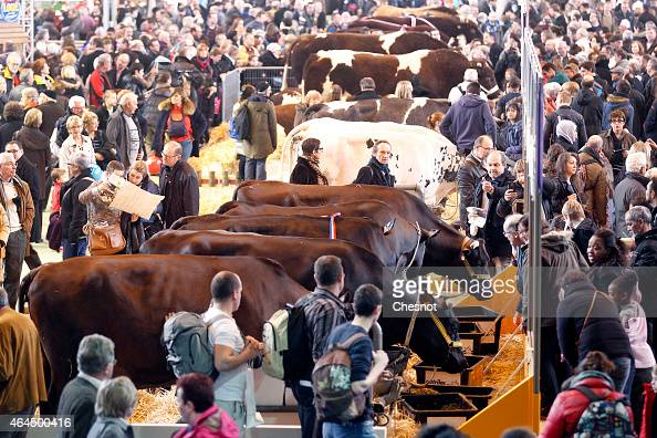 Expositions porte stock photos and pictures getty images for Porte de versailles salon agriculture