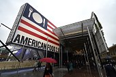 People visit the pavillion of the USA of the Universal Exposition EXPO2015 on May 1 2015 in Milan Milan's EXPO2015 opens on May 1 with hopes that the...