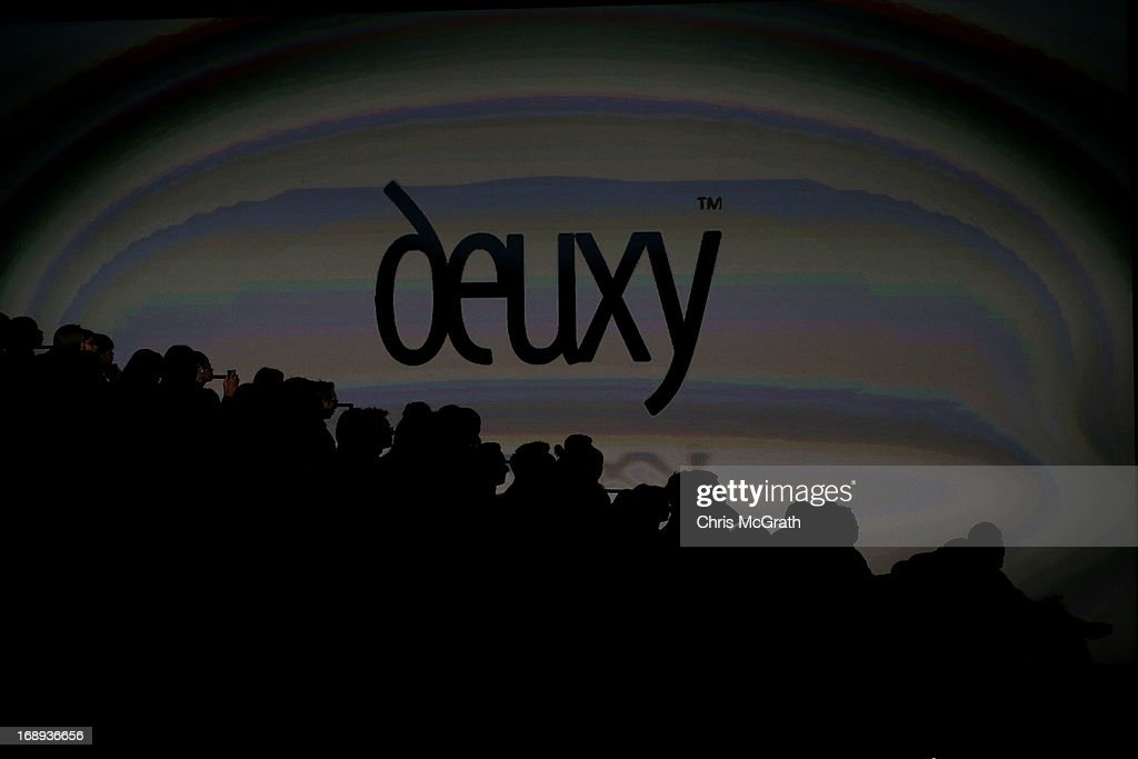 People wait for the start of the Deuxy show during the Audi Star Creation Capsule Showcase on May 17, 2013 in Singapore.