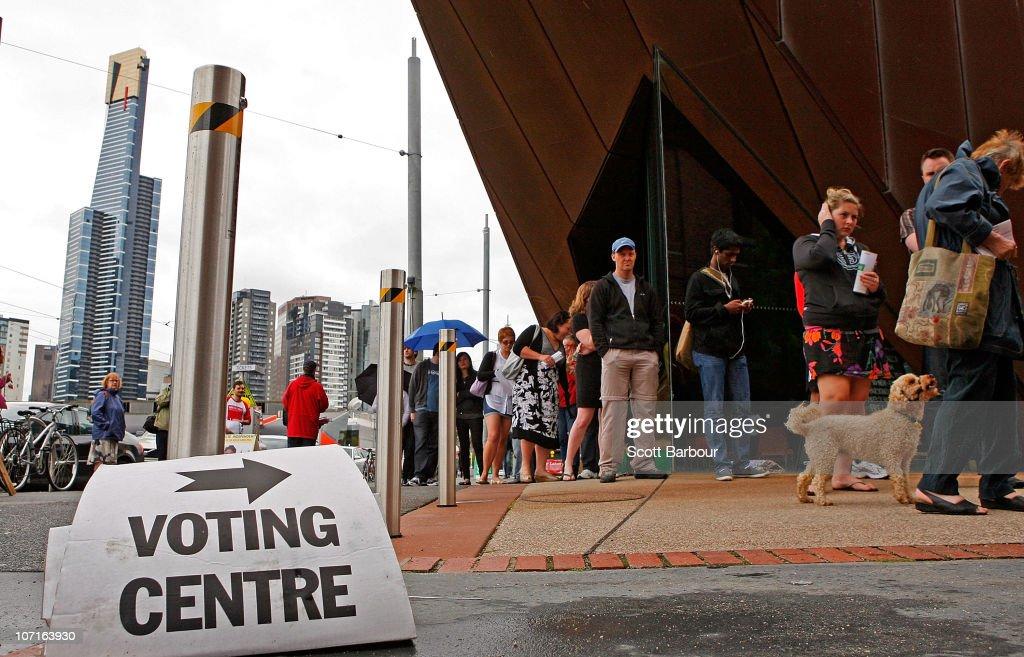 Election date in Australia
