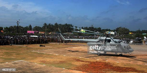People waiting in a long queue to pay their respects to former President APJ Abdul Kalam at a public viewing ground in Rameswaram Abdul Kalam died...