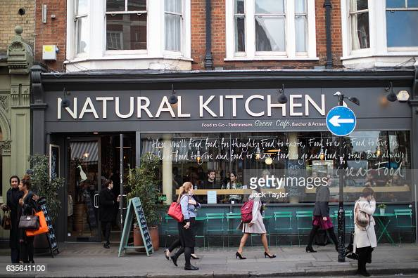 People walk by a Natural Kitchen in Marylebone on February 16 2017 in London England The Association for Licensed Multiple Retailers have written to...