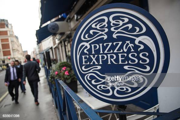 People walk by a Pizza Express restaurant in Marylebone on February 16 2017 in London England The Association for Licensed Multiple Retailers have...