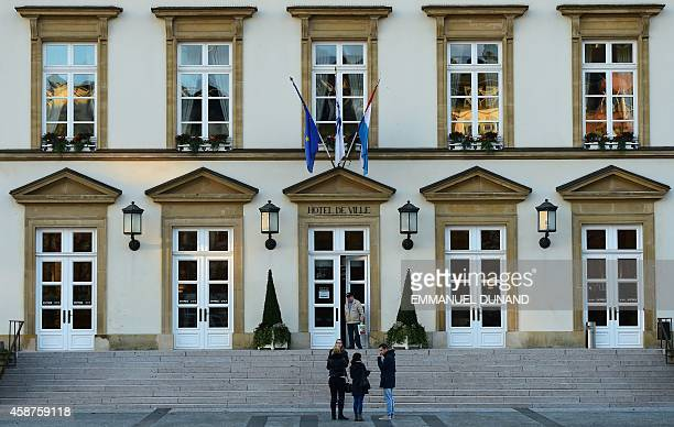 People walk in front of Luxembourg City Hall in Luxembourg on November 10 2014 Leaked documents describing the Luxembourg tax arrangements of more...