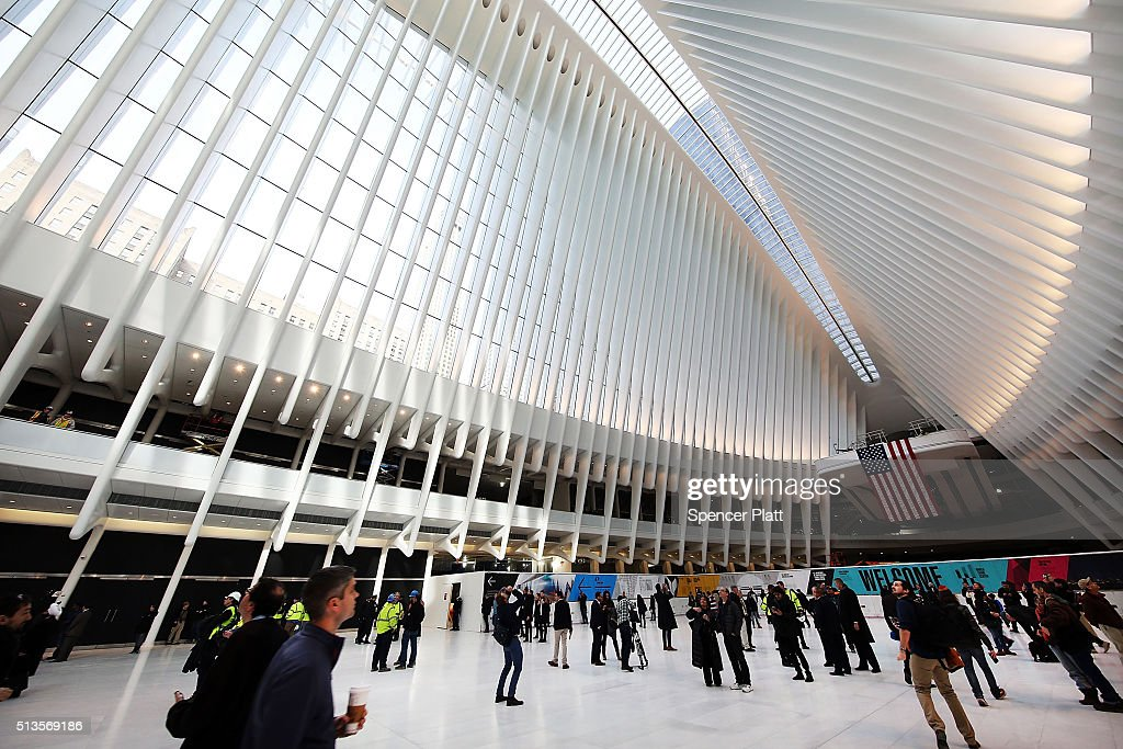 New Wtc State Of The Art Transportation Hub Quot Oculus Quot Opens