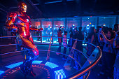 IND: People Visit At Avengers S.T.A.T.I.O.N Exhibit In Mumbai