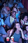 People Watching Boring Movie