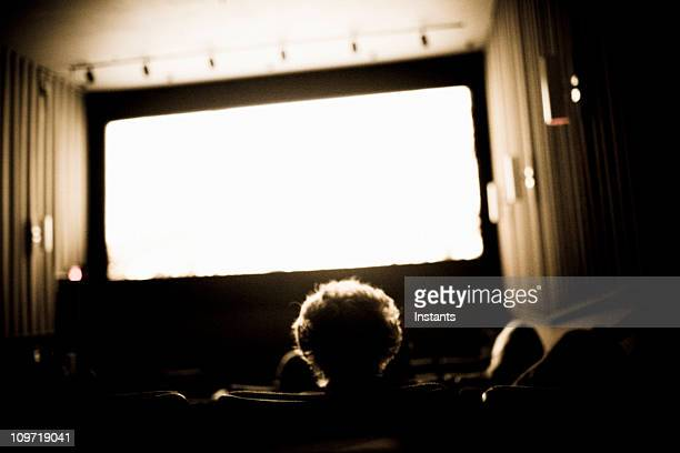 People Watching Movies