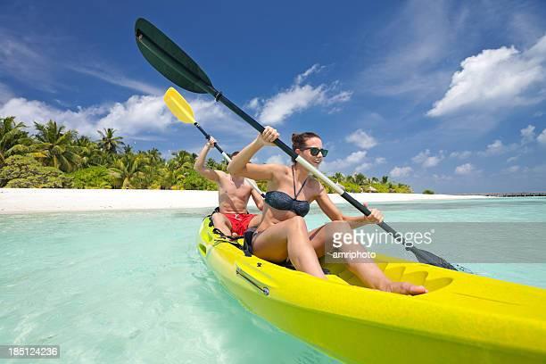 people watersport in paradise