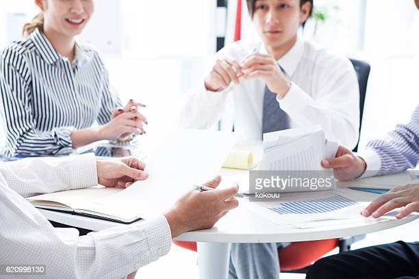 People who are eagerly conference