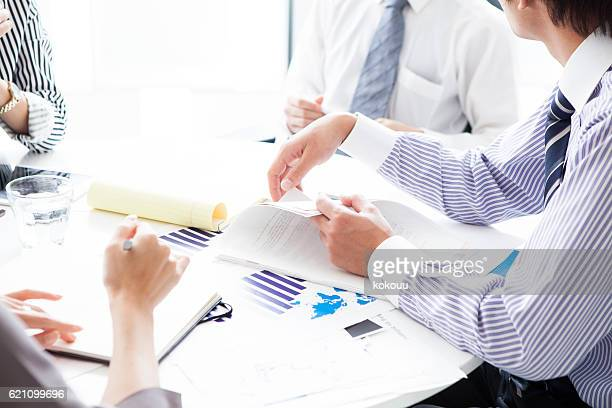 People who have a meeting with the documentation in reference