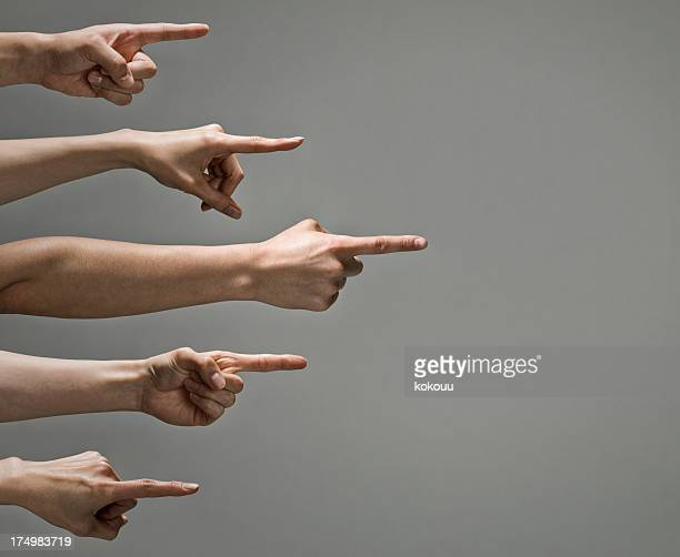 People who point out