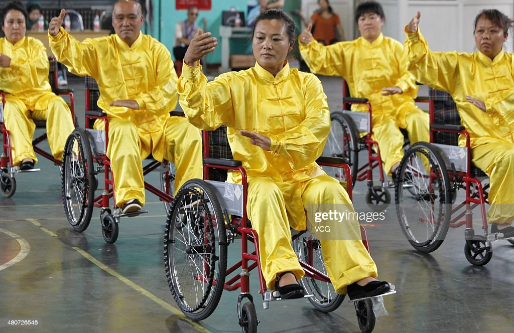 Tai Chi Chuan per disabili in sedia a rotelle