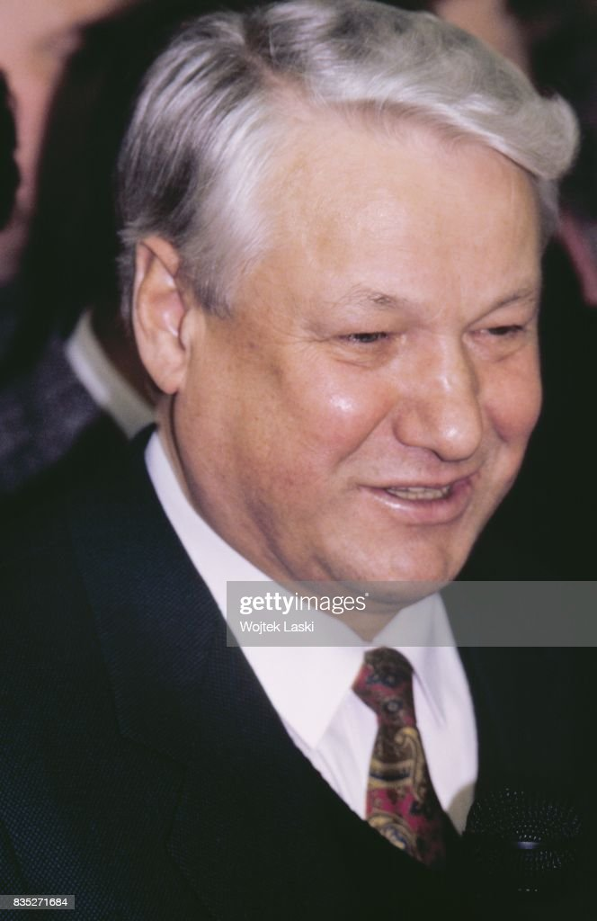 People's deputy Boris Yeltsin in Moscow, Russia, 1989.
